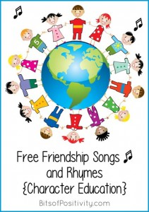 Free-Friendship-Songs-and-Rhymes-Character-Education