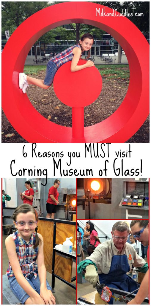 Corning Museum of Glass Tour