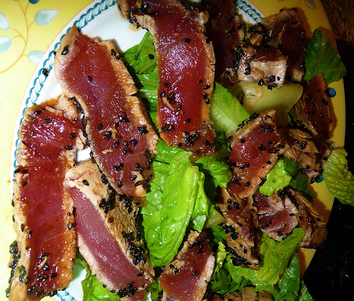 Sesame Seared Tuna: A Summer meal