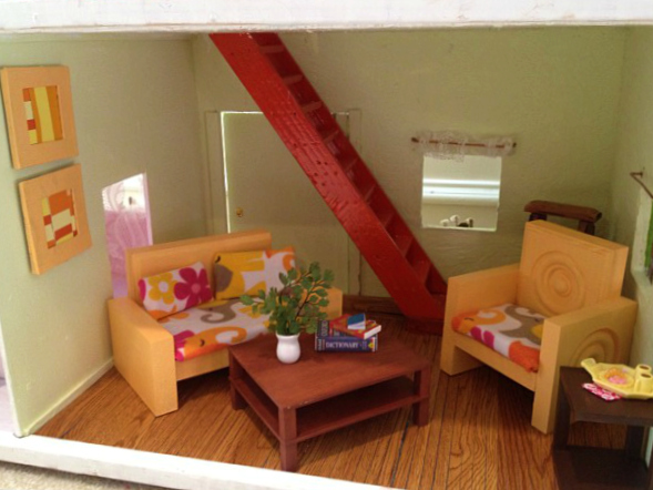 How to make a Doll Couch and Chair! Cheaply and EASILY!