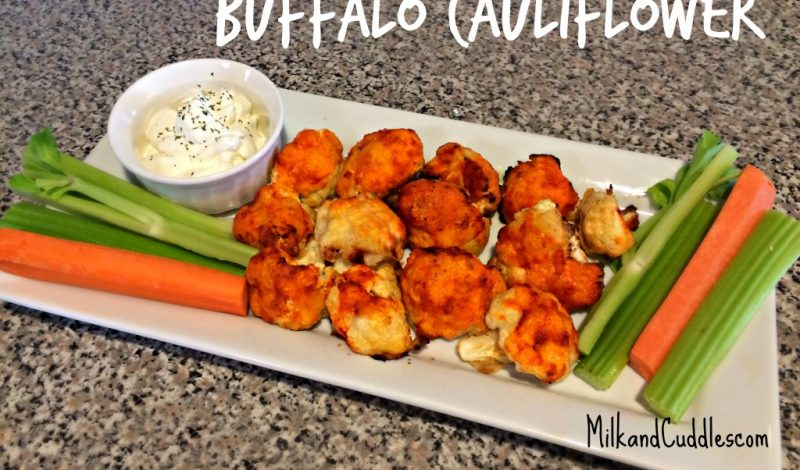 How to make Buffalo Cauliflower!