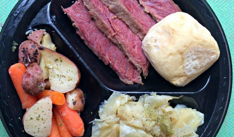 Corned Beef & Cabbage Dinner – less than $8! #MarketStreetTX