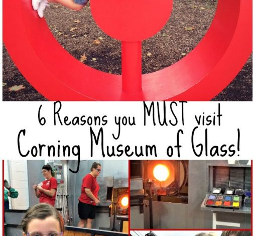 6 Reasons to Visit the Corning Museum of Glass!