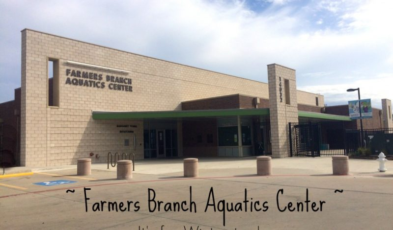 Farmers Branch Aquatics Center – It's not just for Summer!