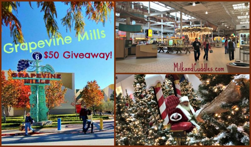 Grapevine Mills Mall – Spread the Love $50 Giveaway!