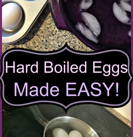 How to Hard Boil Eggs using -Stove Top or Oven!