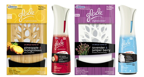 Glade Gift Bag Giveaway! And exciting news!