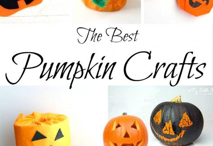 The Best Pumpkin Crafts for kids!