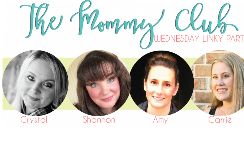 The Mommy Club Wednesday Linky Party!