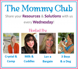 Mommy Club Link Up! Wednesday just got good!
