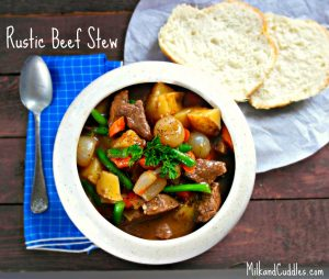 The Perfect Rustic & Hearty Beef Stew!