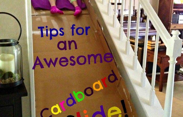 Build a Cardboard Slide!