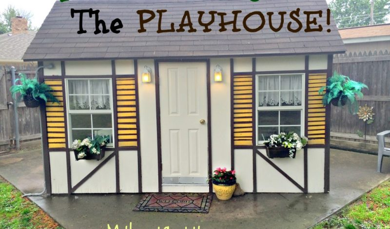 Tips for Spring Cleaning the Playhouse!