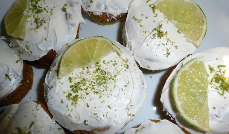 Key Lime Pie Cupcakes!