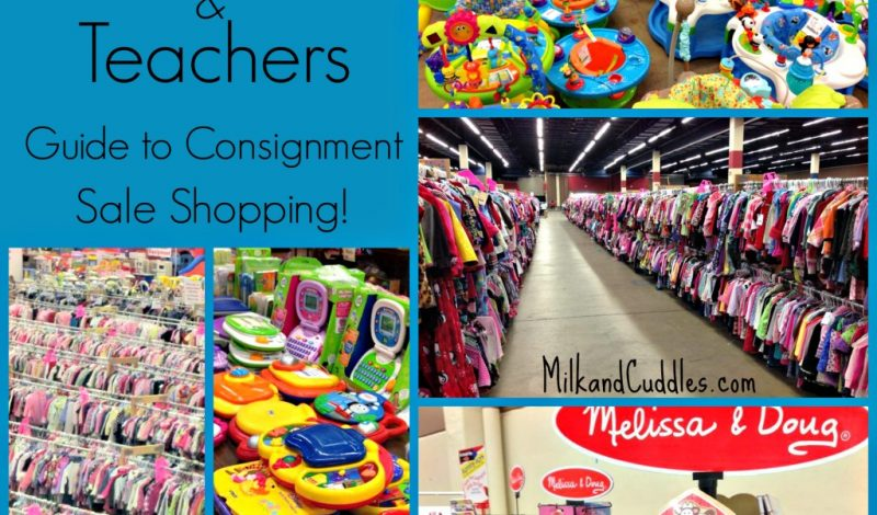 Tips for Grandparents & Teachers that Shop Consignment! {JBF Giveaway!}