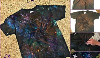 How to make a GALAXY Shirt!