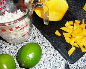 How To Make: Mango Chicken Wraps