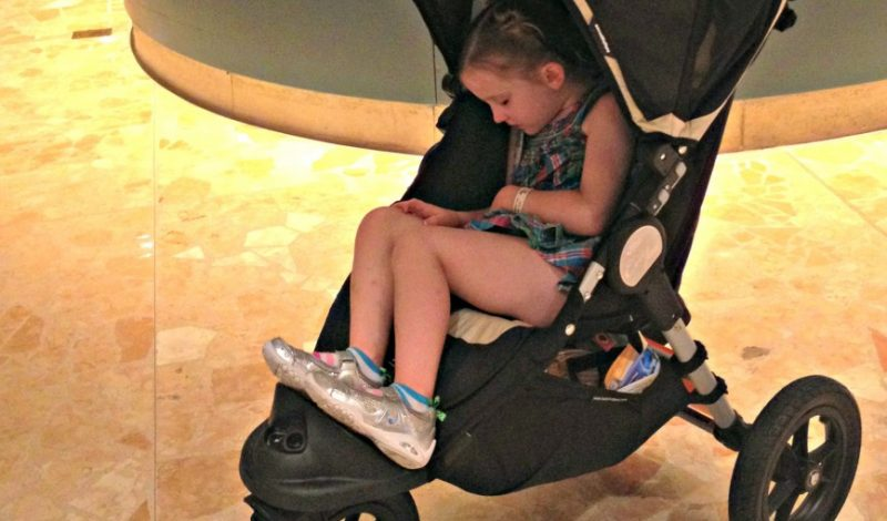 Getting around Disney in a Stroller!