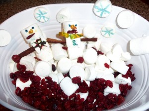 Toddler Activity:Edible Winter Sensory Tub
