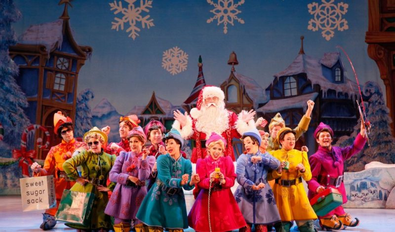Elf The Musical – It snowed in Dallas last night!