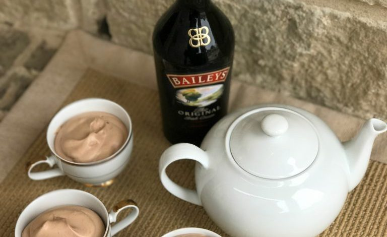 Baileys Irish Cream Mousse {Recipe}