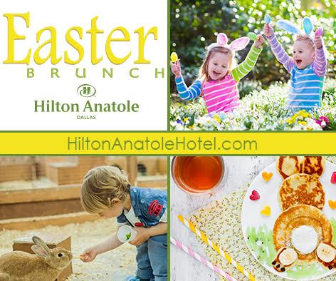 Spend Easter at the Hilton Anatole!