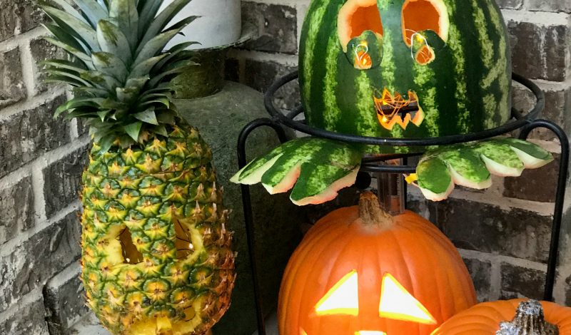Carving Tips for Pineapple & Watermelon Pumpkins