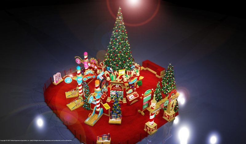 Santa's Toy Factory – Free at the Parks Mall at Arlington