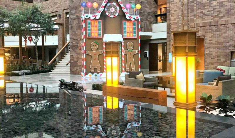 Why you should spend the Holidays at the Hilton Anatole – Dallas