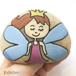 Step by Step – Fairy Rock Art