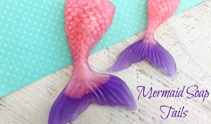 Make Mermaid Soap!