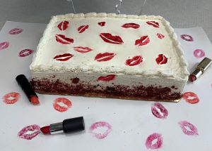 Red Velvet Kiss Cake Recipe