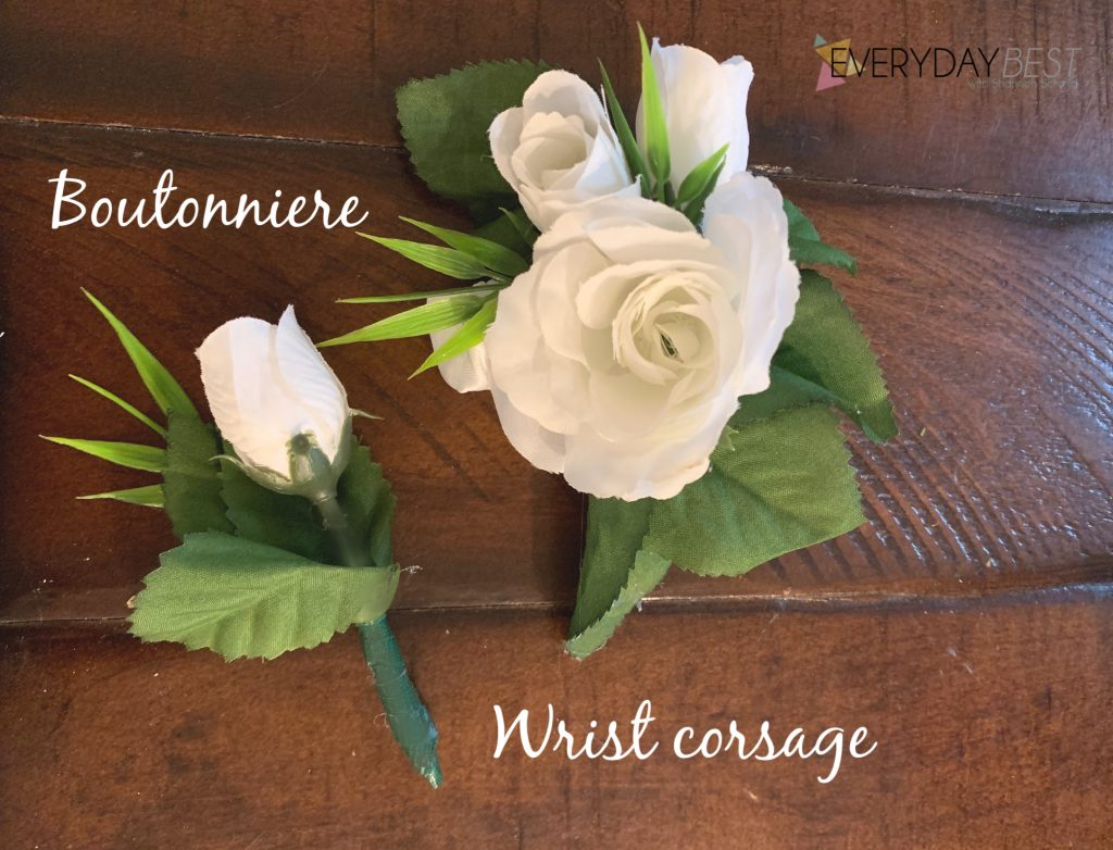 Make Your Own Corsage And Boutonniere On A Budget