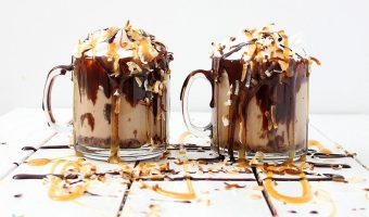 Girl Scout Cookie inspired Coffee {SAMOA}
