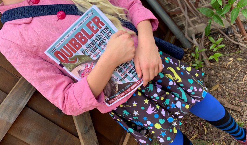 DIY Luna Lovegood Costume – for Cheap!