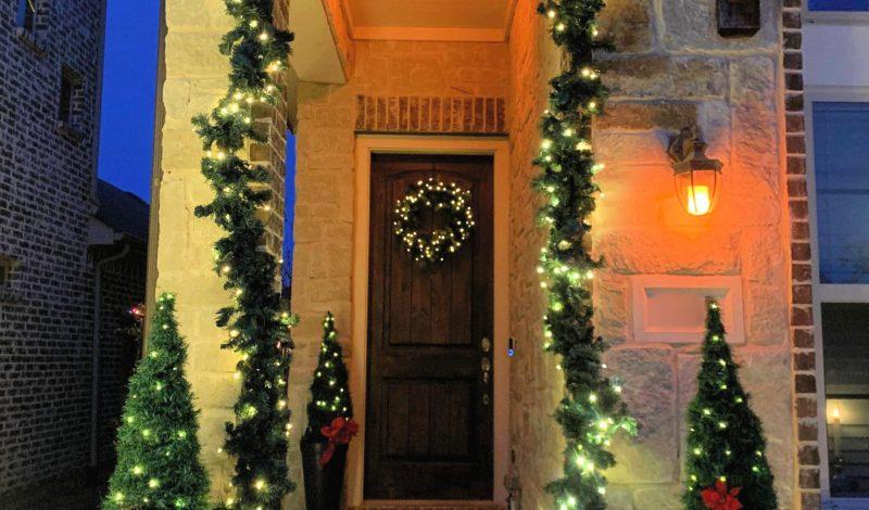 Dollar Store – Christmas Decor Topiary Trees