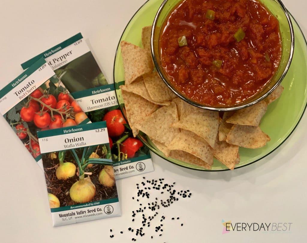 what garden salsa looks like