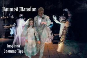Haunted mansion bride costume